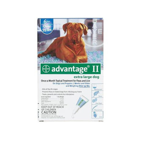 Advantage Flea Control for Dogs And Puppies Over 55 lbs 6 Month Supply - ViTaiLity Pet Supply
