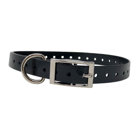 "The Buzzard's Roost Replacement Collar Strap 3/4"" Black 3/4"" x 24"" - ViTaiLity Pet Supply"