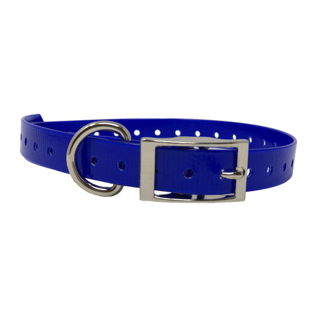 "The Buzzard's Roost Replacement Collar Strap 3/4"" Dark Blue 3/4"" x 24"" - ViTaiLity Pet Supply"
