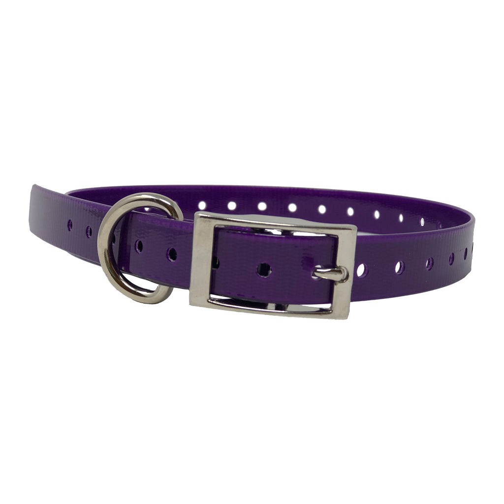 "The Buzzard's Roost Replacement Collar Strap 3/4"" Purple 3/4"" x 24"" - ViTaiLity Pet Supply"