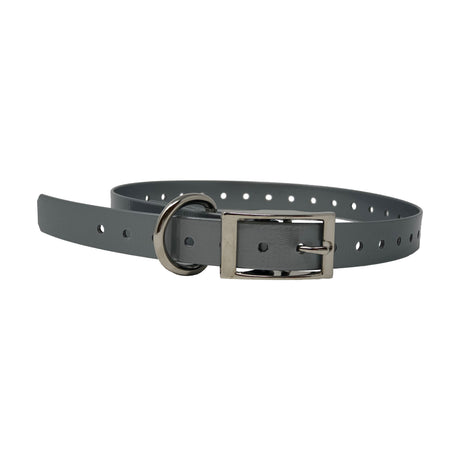 "The Buzzard's Roost Replacement Collar Strap 3/4"" Silver 3/4"" x 24"" - ViTaiLity Pet Supply"