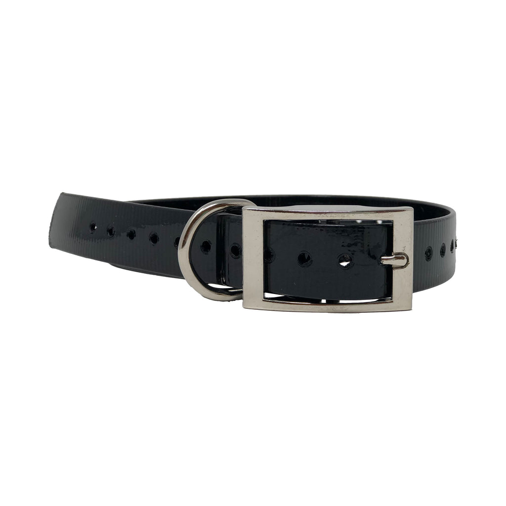 "The Buzzard's Roost Replacement Collar Strap 1"" Black 1"" x 24"" - ViTaiLity Pet Supply"