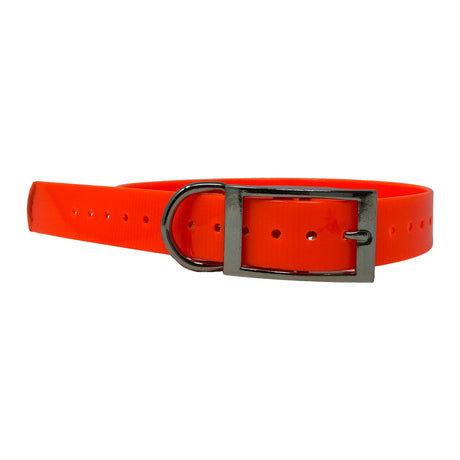 "The Buzzard's Roost Replacement Collar Strap 1"" Orange 1"" x 24"" - ViTaiLity Pet Supply"