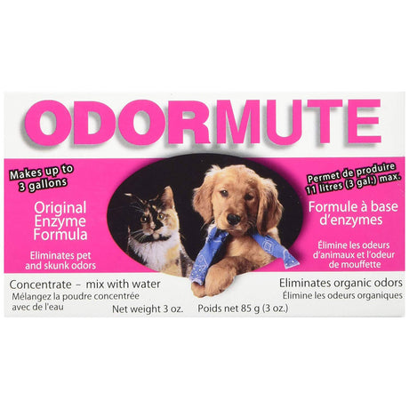 "Hueter Toledo Odormute Powder Odor Eliminator Unscented 3 ounces 4.5"" x 2.5"" x 1.5"" - ViTaiLity Pet Supply"