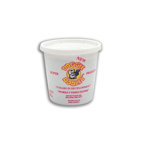 Hueter Toledo Super Dooley Digester 5 Lb Tub White - ViTaiLity Pet Supply