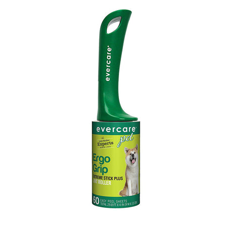 "Evercare Pet Plus Giant Extreme Stick Lint Roller 60 Sheets 10.2"" x 2.75"" x 2.75"" - ViTaiLity Pet Supply"