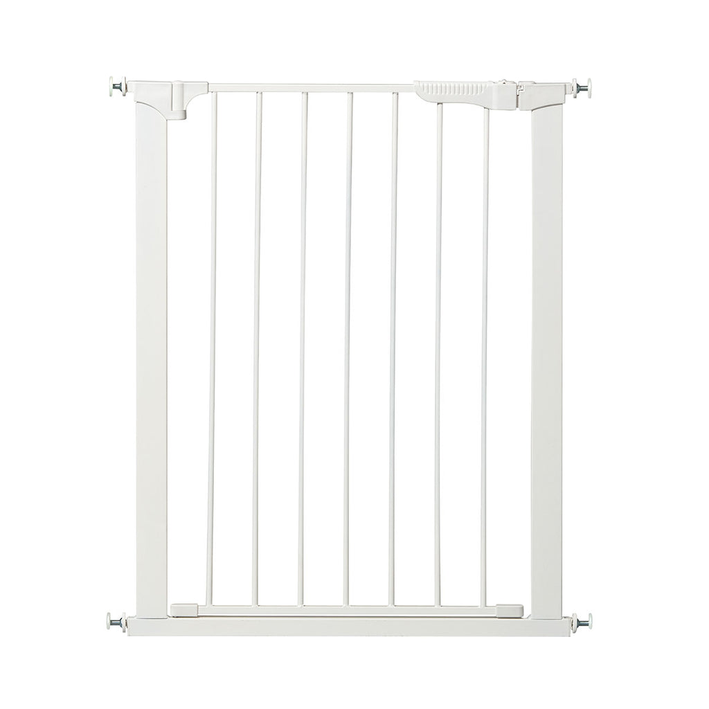 "Kidco Tall and Wide Auto Close Gateway Pressure Mounted Pet Gate White 29"" - 47.5"" x 36"" - ViTaiLity Pet Supply"