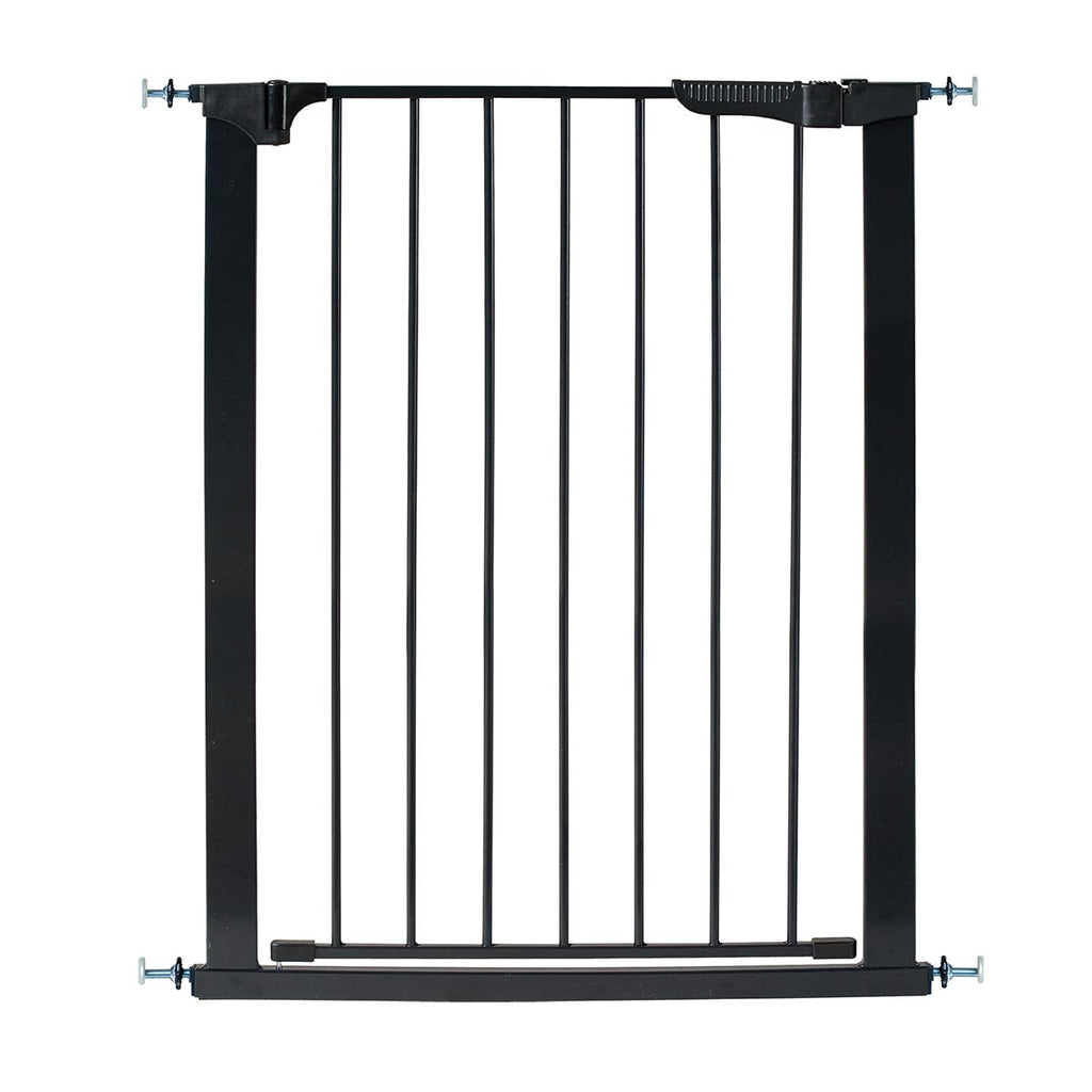 "Kidco Tall and Wide Auto Close Gateway Pressure Mounted Pet Gate Black 29"" - 47.5"" x 36"" - ViTaiLity Pet Supply"
