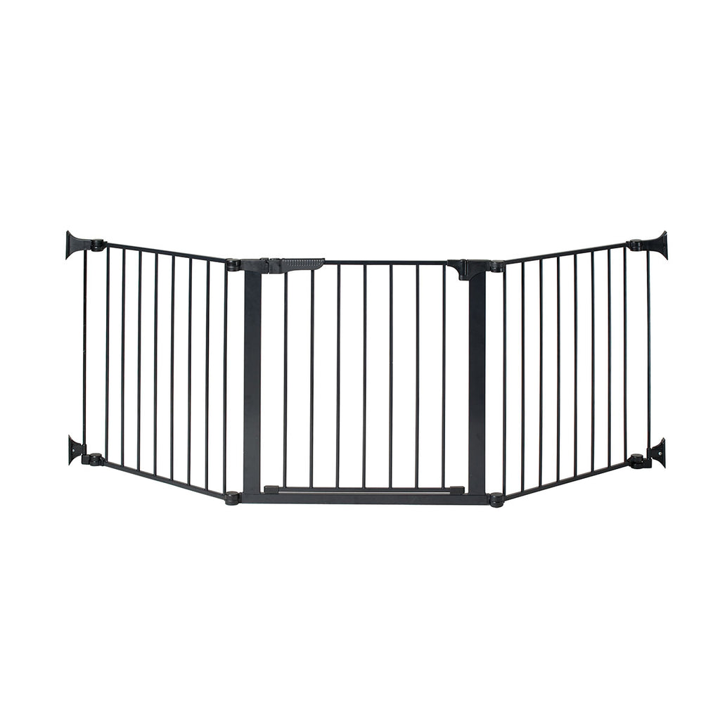 "Kidco Auto Close ConfigureGate Pet Gate Black 84"" x 31"" - ViTaiLity Pet Supply"