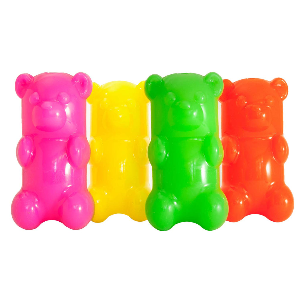 "Ruff Dawg GummyBear Dog Toy Assorted 2.5"" x 2"" x 6"" - ViTaiLity Pet Supply"