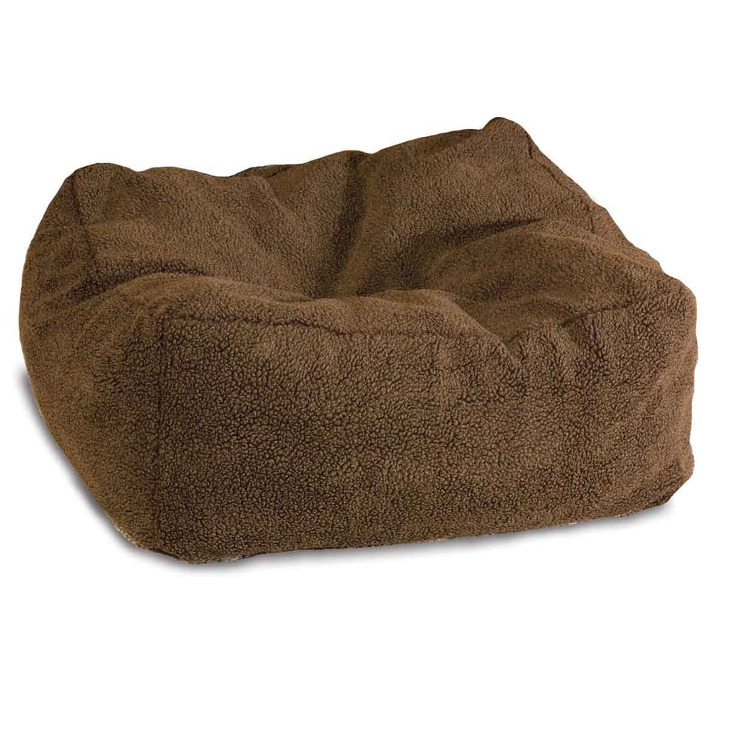 "K&H Pet Products Cuddle Cube Pet Bed Small Mocha 24"" x 24"" x 12"" - ViTaiLity Pet Supply"