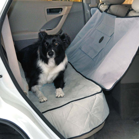 "K&H Pet Products Deluxe Car Seat Saver Gray 54"" x 58"" x 0.25"" - ViTaiLity Pet Supply"