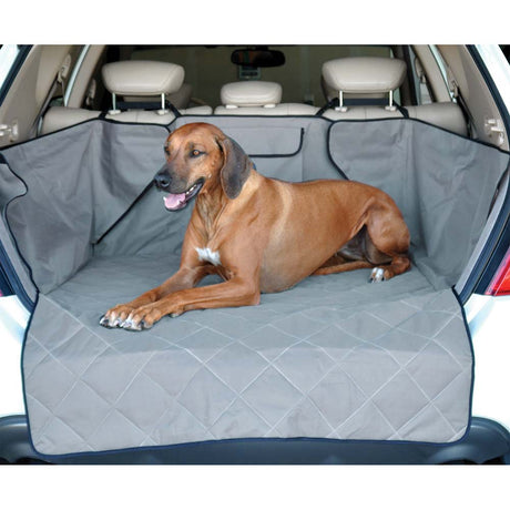 "K&H Pet Products Quilted Cargo Cover Gray 52"" x 40"" x 18"" - ViTaiLity Pet Supply"