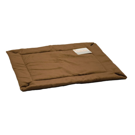 "K&H Pet Products Self-Warming Crate Pad Extra Large Mocha 32"" x 48"" x 0.5"" - ViTaiLity Pet Supply"