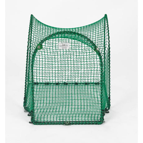 "Kittywalk Single T-Connect Unit Outdoor Cat Enclosure Green 24"" x 24"" x 24"" - ViTaiLity Pet Supply"