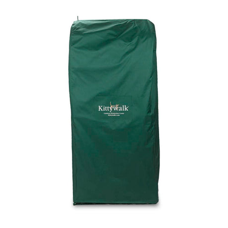 "Kittywalk Outdoor Protective Cover for Kittywalk Penthouse Green 18"" x 24"" x 60"" - ViTaiLity Pet Supply"
