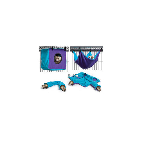 Midwest Nation Accessory Kit 3 Teal / Purple - ViTaiLity Pet Supply