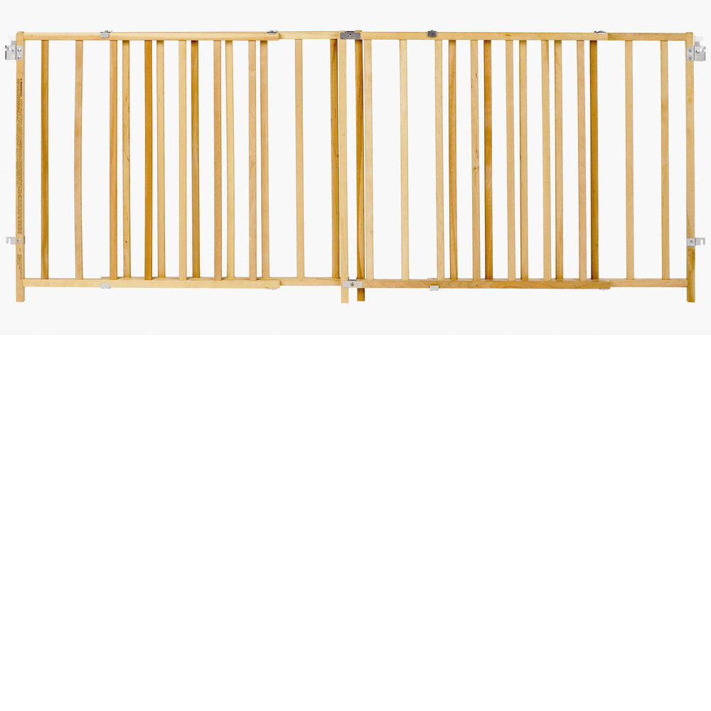 "North States Extra-Wide Swing Pet Gate Wood 60"" - 103"" x 27"" - ViTaiLity Pet Supply"