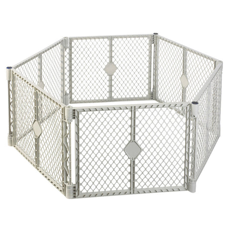 "North States Pet Superyard XT Gate 6 panels White 30"" x 26"" - ViTaiLity Pet Supply"