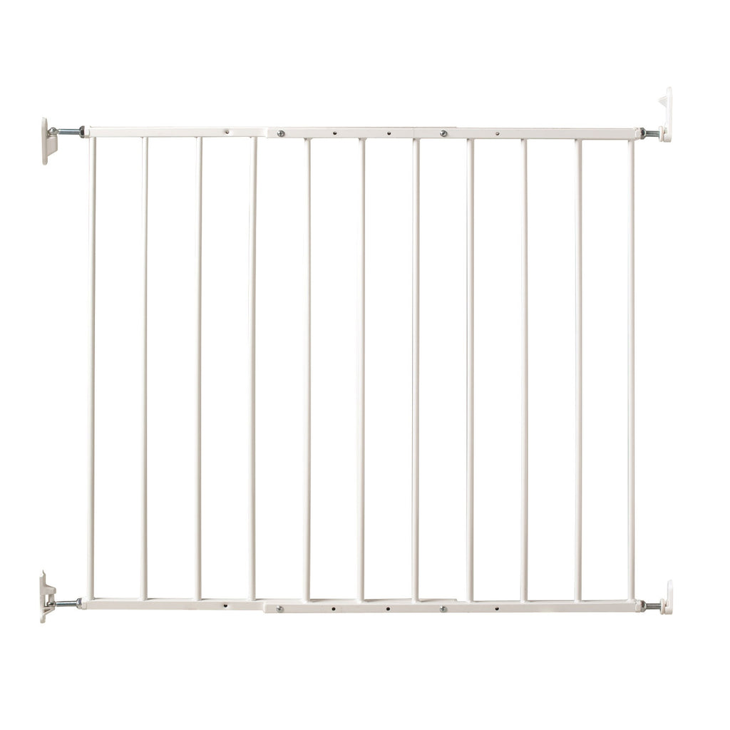 "Kidco Command Wall Mounted Pet Gate White 24.75"" - 42.5"" x 1.75"" x 31"" - ViTaiLity Pet Supply"