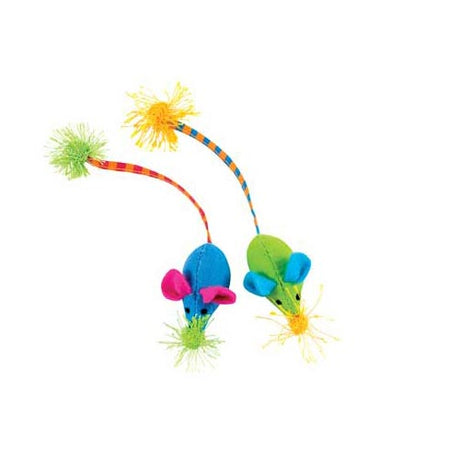 Petstages Twice Mice Multi-colored - ViTaiLity Pet Supply