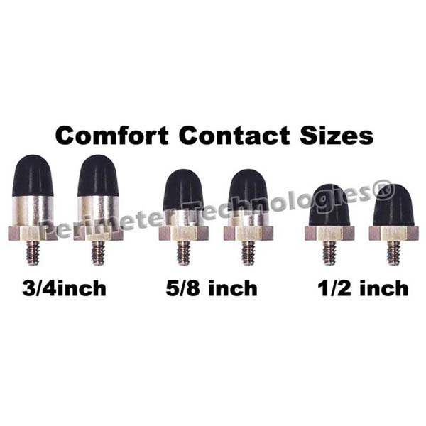"Perimeter Technologies Comfort Contacts 1/2"" Black - ViTaiLity Pet Supply"