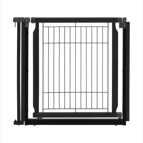 "Richell Convertible Elite Additional Door Panel Black 33.9"" x 1.4"" x 31.5"" - ViTaiLity Pet Supply"