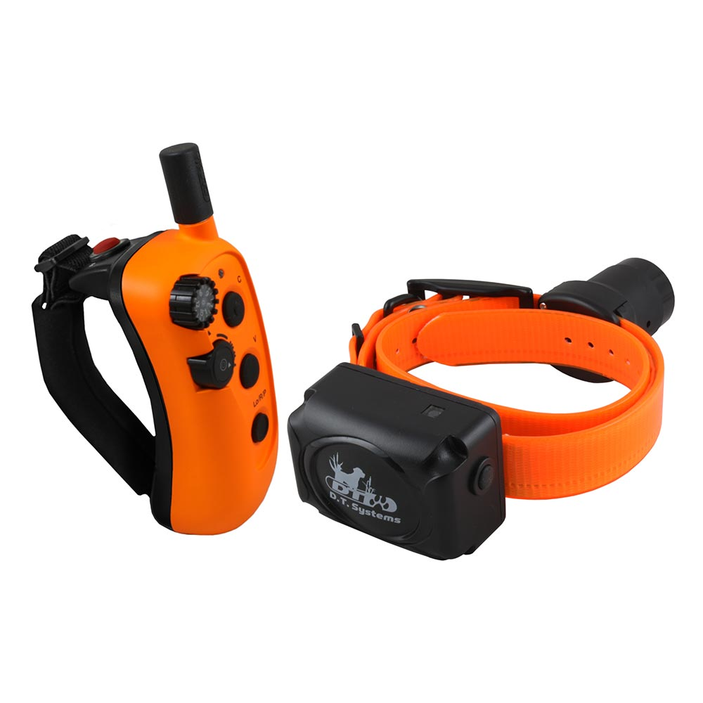D.T. Systems R.A.P.T. 1450 Upland Beeper Expandable Remote Dog Trainer Orange - ViTaiLity Pet Supply
