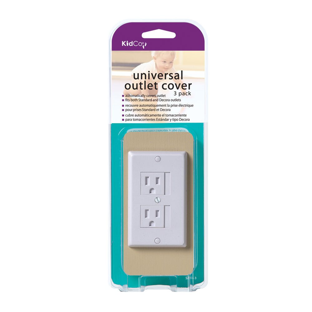 Kidco Universal Outlet Cover 3 pack White - ViTaiLity Pet Supply
