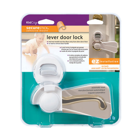 Kidco Door Lever Lock Clear - ViTaiLity Pet Supply