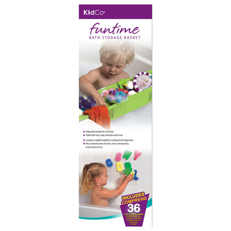 Kidco Fun Time Bath Storage Basket Green - ViTaiLity Pet Supply