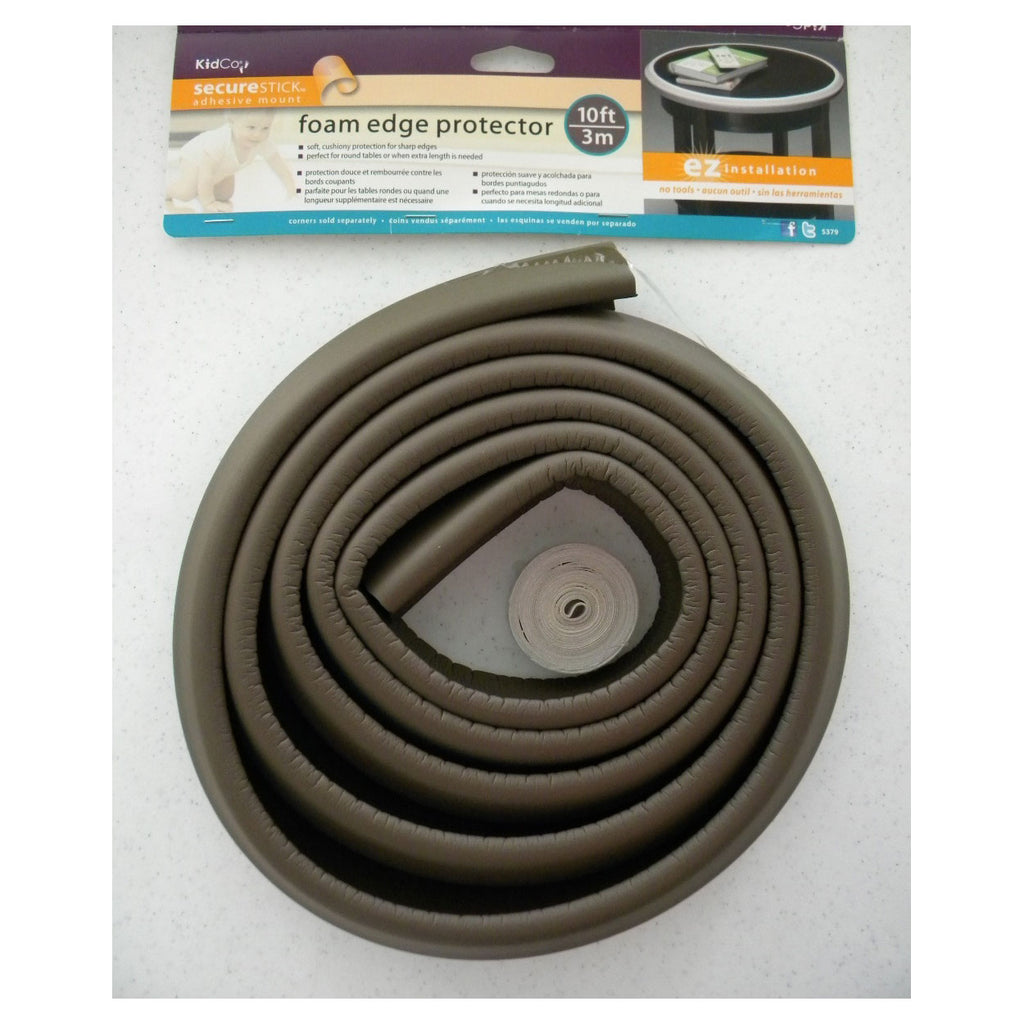 Kidco Foam Edge Protector Brown - ViTaiLity Pet Supply