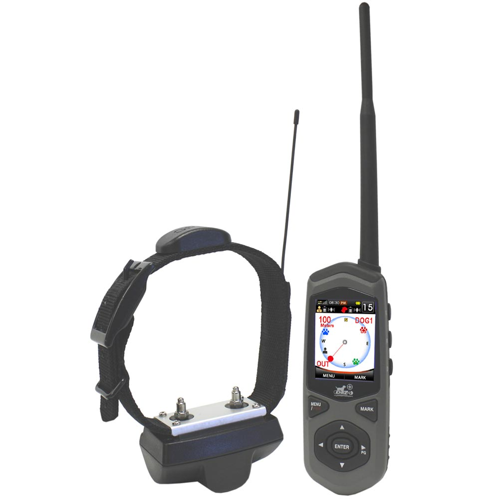 D.E. Systems Border Patrol: GPS Dog Containment System, Remote Trainer and Short-Range Tracking Unit - ViTaiLity Pet Supply