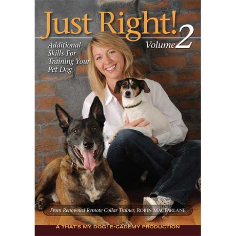 That's My Dog Just Right Dog Training DVD Volume 2 - ViTaiLity Pet Supply