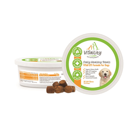 ViTail UTI Formula for Dogs Cranberry UTI Supplement for Dogs - ViTaiLity Pet Supply