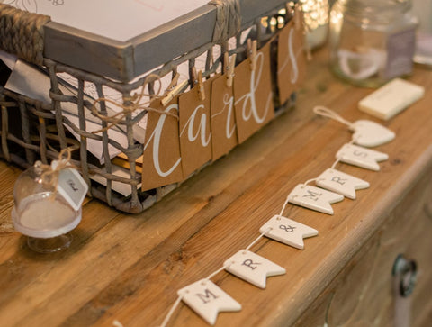 Cards, Bunting and Peg Set