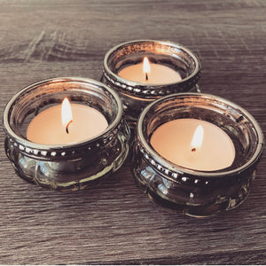 Metal Edge Tealight Holder