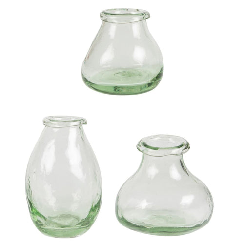 SASS & BELLE Set of 3 Curved Glass Vases