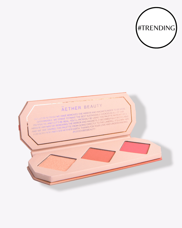 Crystal Charged Blush Palette