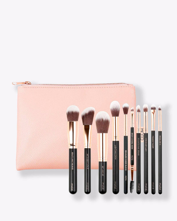 Lux Makeup Brush Essentials Set