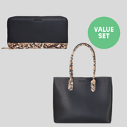 Lea Tote + Wallet Value Set