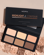 Highlight & Couture Contouring Palette