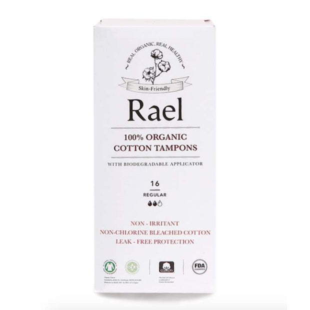 Organic Cotton Tampon - Applicator