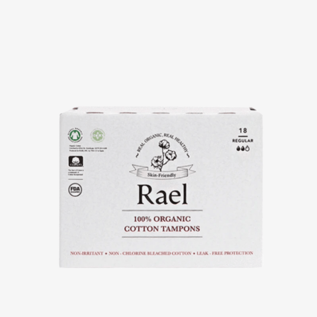 Organic Cotton Tampons - Non-Applicator