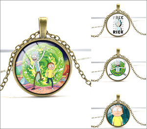 FREE Cool Rick and Morty Necklace