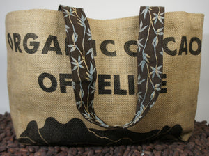 Dandelion Chocolate Cacao Sack Tote Bag -