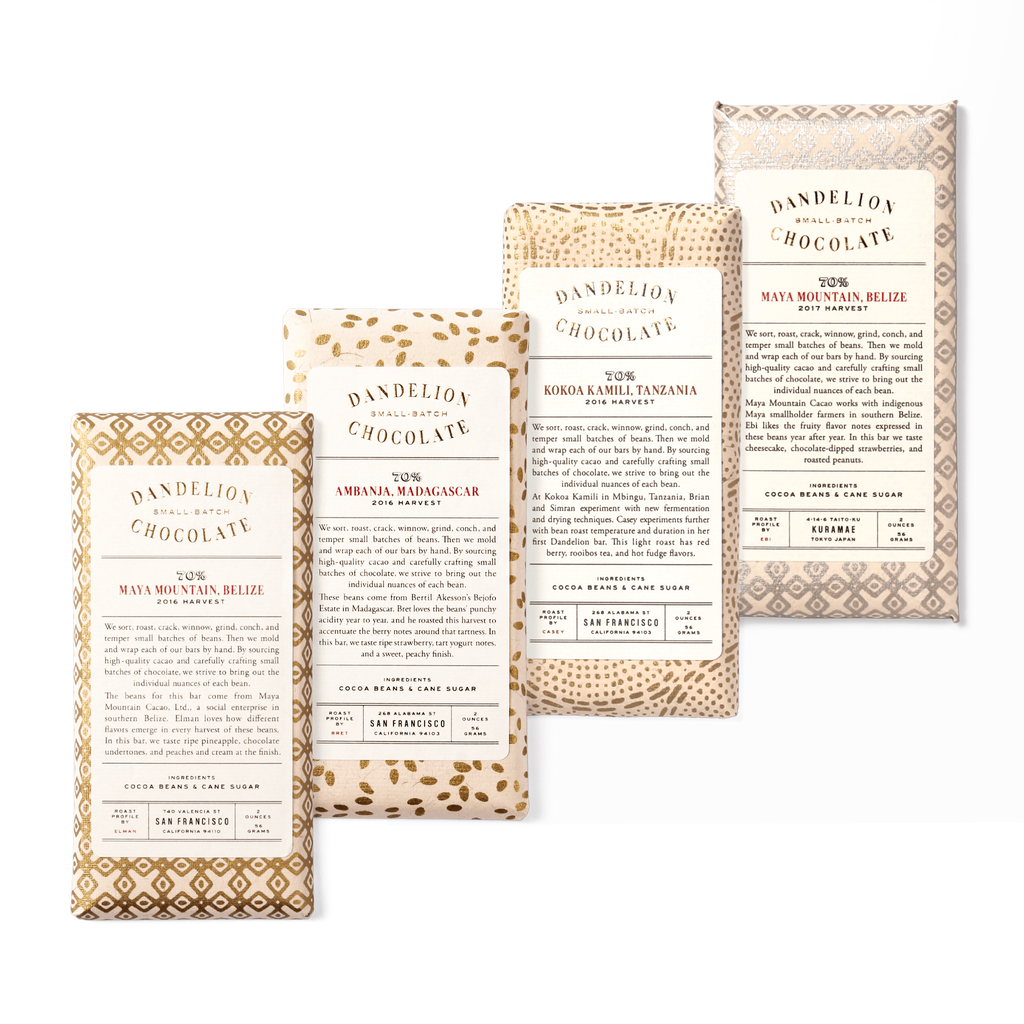 Dandelion Chocolate Chocolate Bar Caitlin's Picks: Full-on Fruity Bonanza Chocolate Bars -