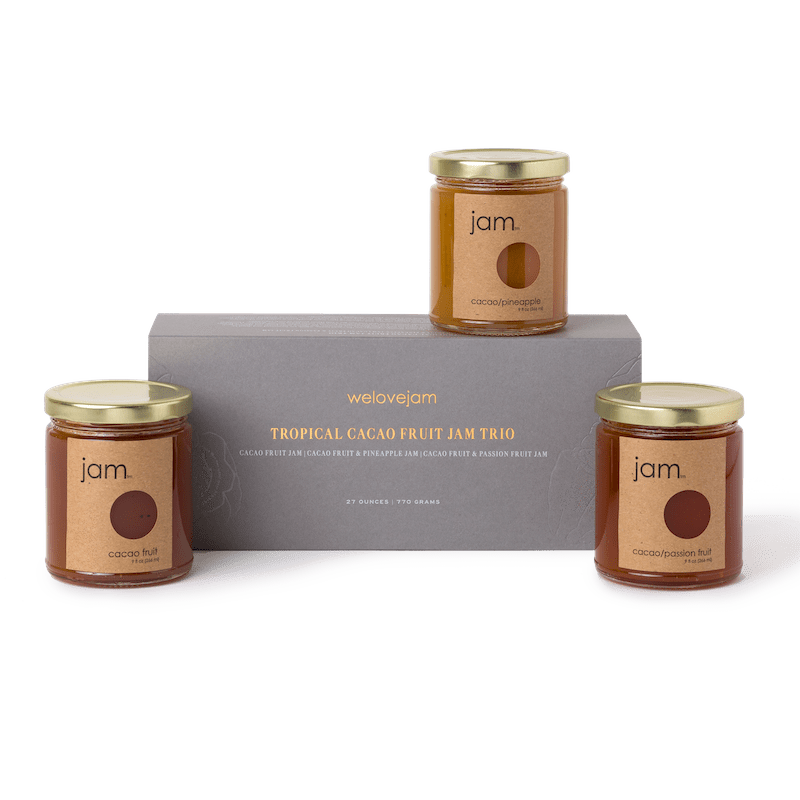 Dandelion Chocolate Collaborator Tropical Cacao Fruit Jam Trio