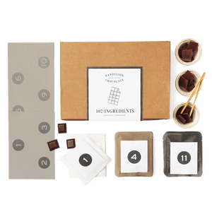 Dandelion Chocolate Gift Online 102: Ingredients