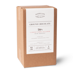 Dandelion Chocolate Ground Chocolate Ground Chocolate - Camino Verde, Ecuador 70% 2018 Harvest